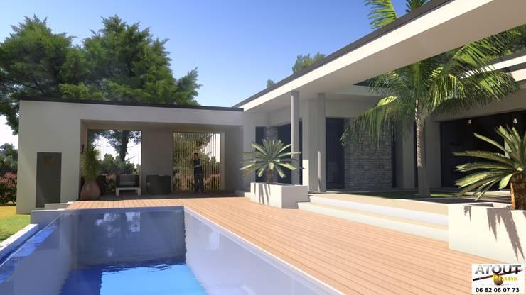 Casas modernas por Atoutplans Architecture