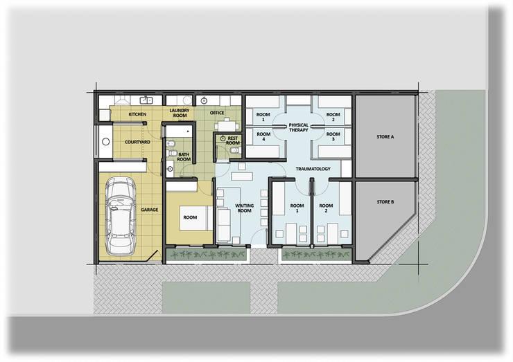 Ampliación: Estudios y oficinas de estilo  por GPA studio