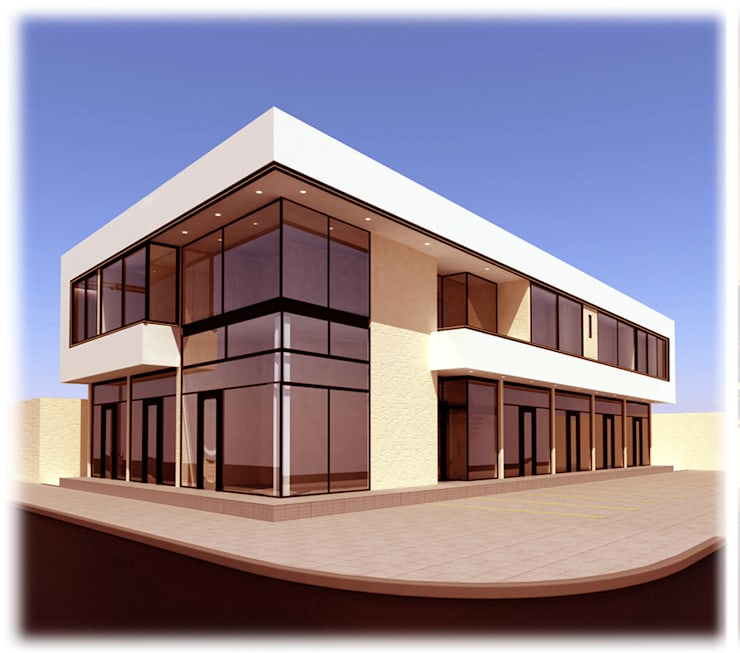 Oficinas y Locales Comerciales Oficinas y comercios de estilo moderno de GPA studio Moderno