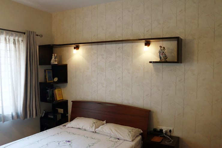 Project in Bangalore: classic Bedroom by Innover Interior Designs