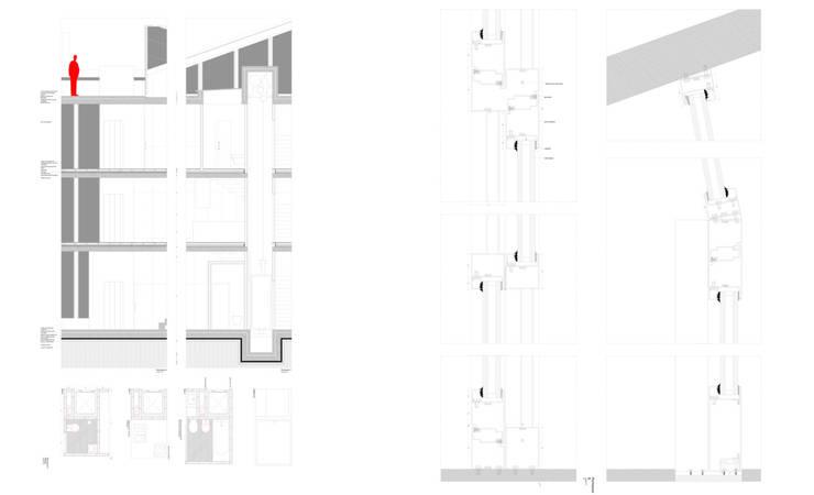 Casa Carlos Barreira –  Sustentabilidade (modelo auto-suficiente):   por Teoriabstrata Arquitetura Unip, lda