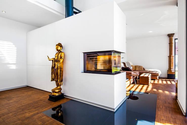 modern Living room by Herzog-Architektur