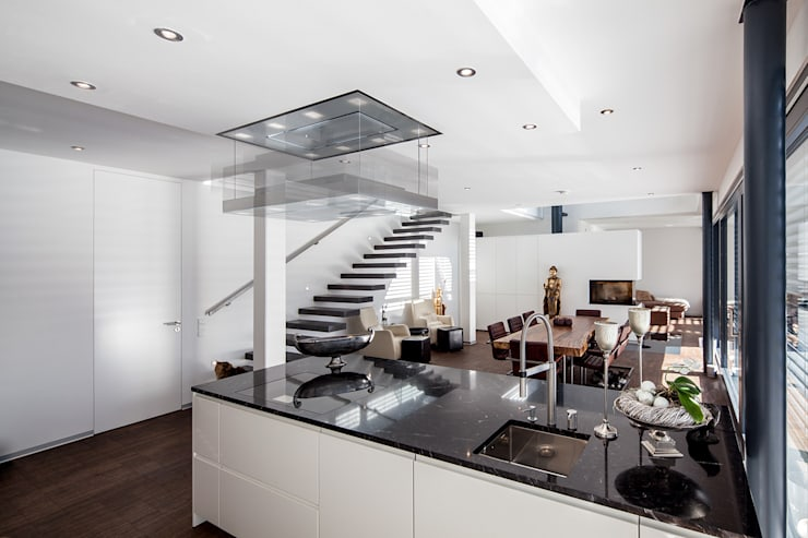 modern Kitchen by Herzog-Architektur