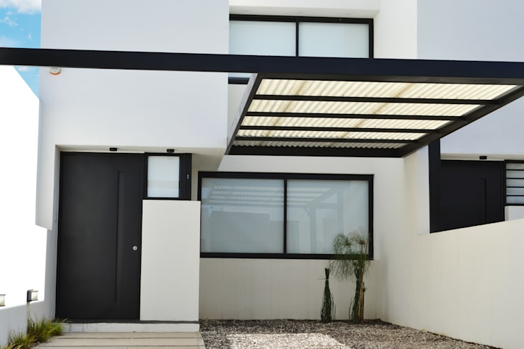 Dúplex VN: Casas de estilo  por estudio mam3 arquitectos,Moderno Caliza