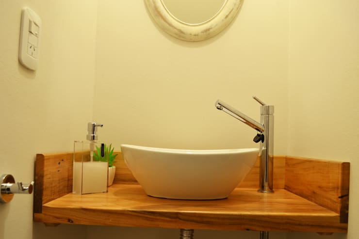Dúplex VN: Baños de estilo  por estudio mam3 arquitectos