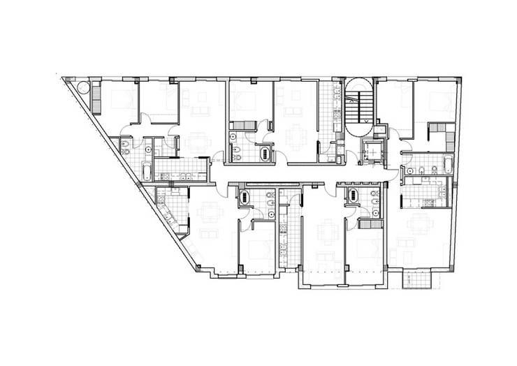 Segundo Piso: Casas de estilo  por Pablo Anzilutti | Arquitecto