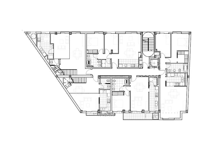 Tercer Piso: Casas de estilo  por Pablo Anzilutti | Arquitecto