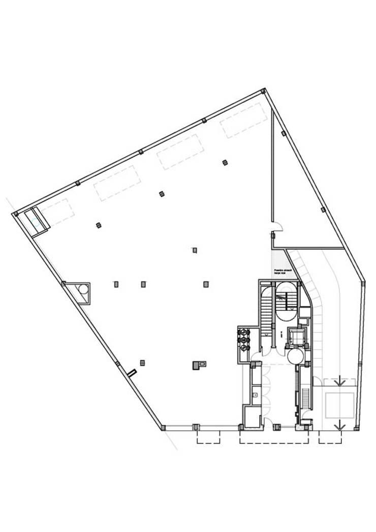 Planta Baja: Casas de estilo  por Pablo Anzilutti | Arquitecto