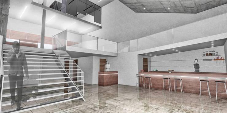 Bar interior: Estudios y oficinas de estilo  por Pablo Anzilutti | Arquitecto