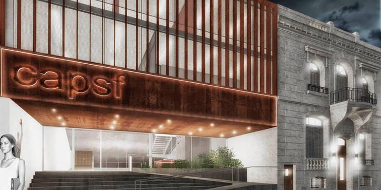 COLEGIO DE ARQUITECTOS PROVINCIA SANTA FE CAD 2: Casas de estilo  por Pablo Anzilutti | Arquitecto