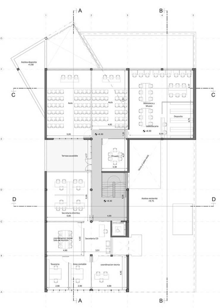 Segundo Piso: Estudios y oficinas de estilo  por Pablo Anzilutti | Arquitecto