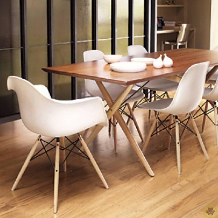 Eames: Hogar de estilo  por Tienda Vanilla