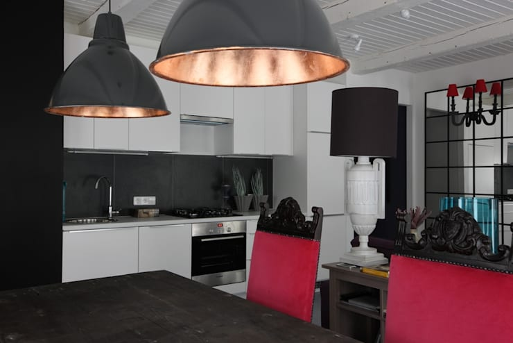 На Неглинной: Кухни в . Автор – Korneev Design Workshop