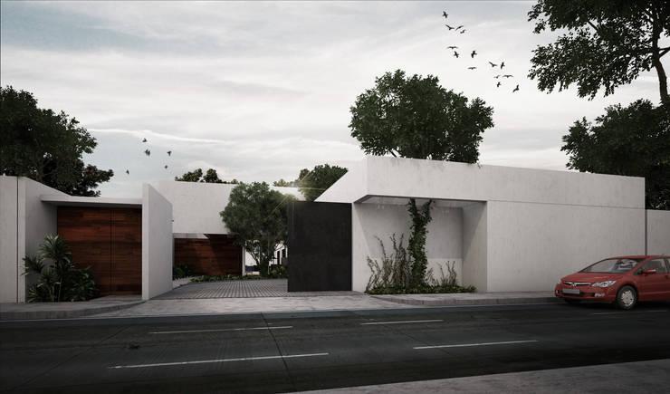 Projekty,  Domy zaprojektowane przez RAYTRACE