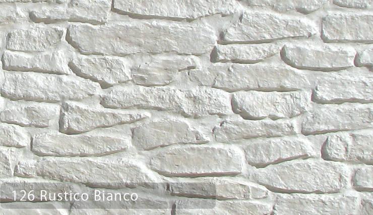 RUSTİCO DOĞAL TAŞ:  de estilo  por Sena Stone, Rústico