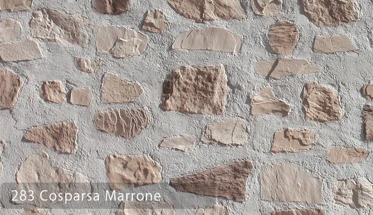 TAŞ DUVAR PANELLERİ: Paisajismo de interiores de estilo  por Sena Stone
