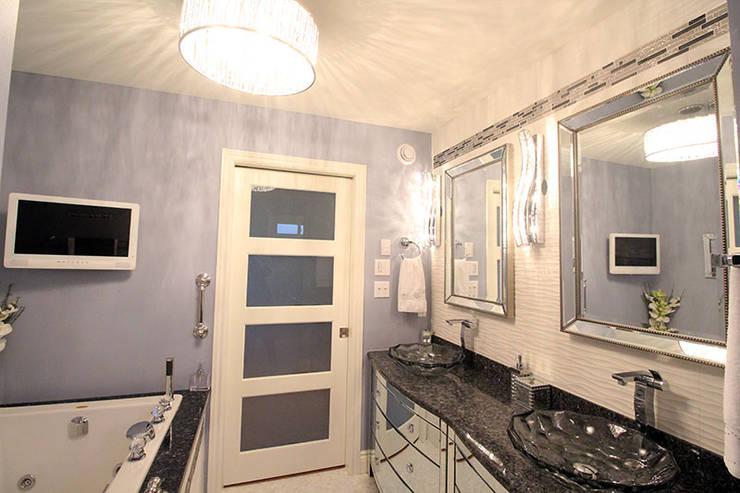modern Bathroom by ShellShock Designs