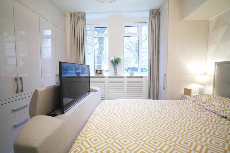 Projekty,  Sypialnia zaprojektowane przez Patience Designs