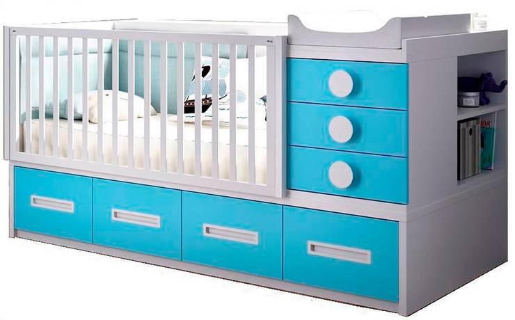 Habitaciones infantiles de estilo  de o quarto dos miúdos