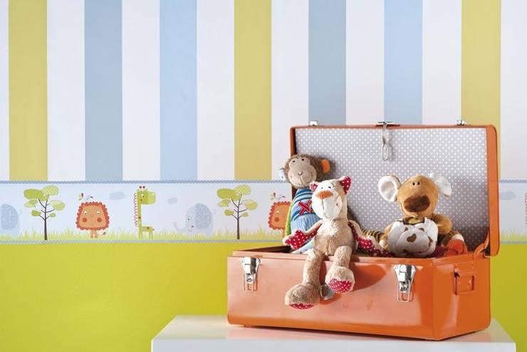 Papel de parede: Quarto de crianças  por o quarto dos miúdos