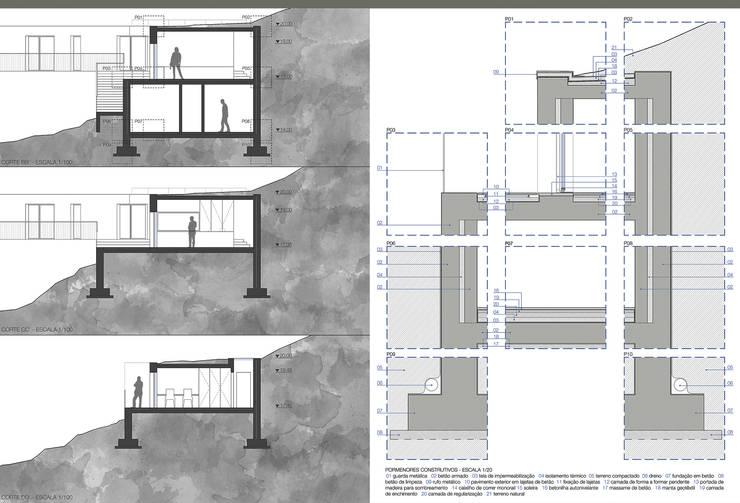 Duas Casas nas Ilhas Selvagens:   por ASVS Arquitectos Associados