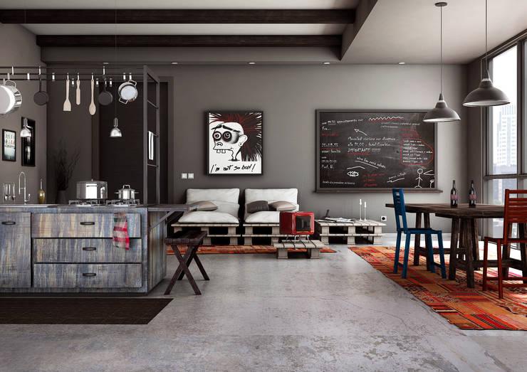 Cozinhas industriais por Giuseppe Balestri
