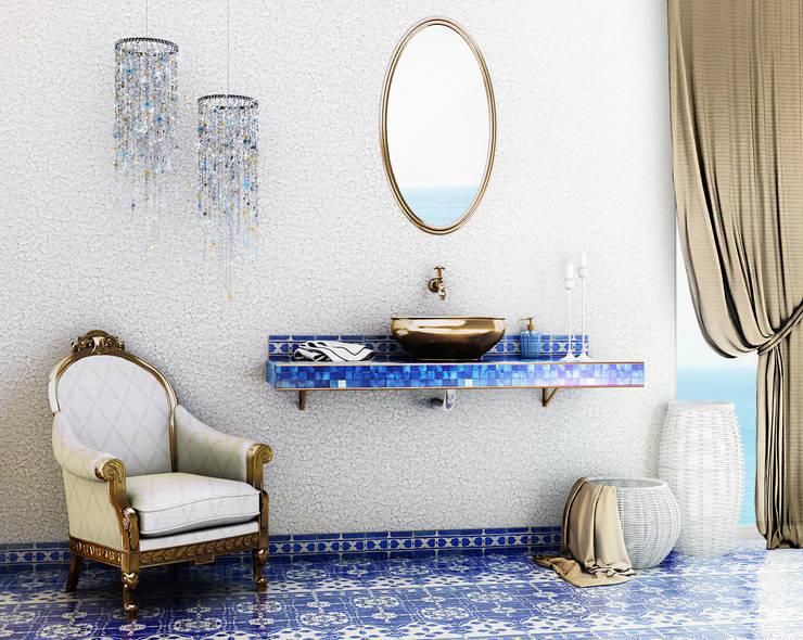 Baños de estilo  por Giuseppe Balestri