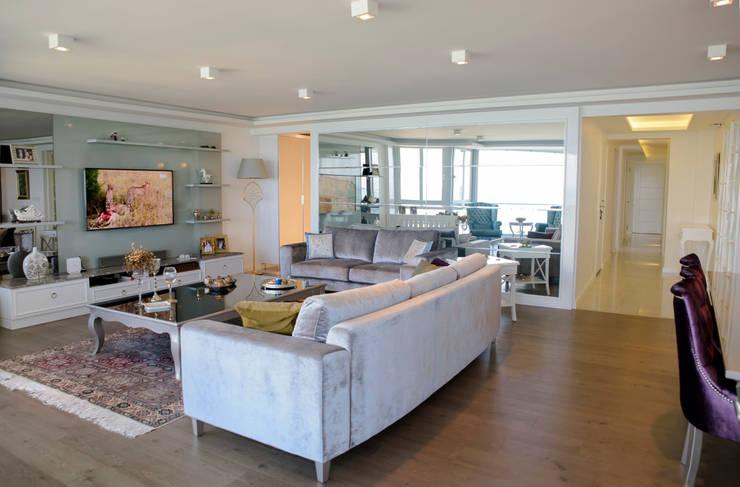 BAGO MİMARLIK  – EBG Evi:  tarz Oturma Odası