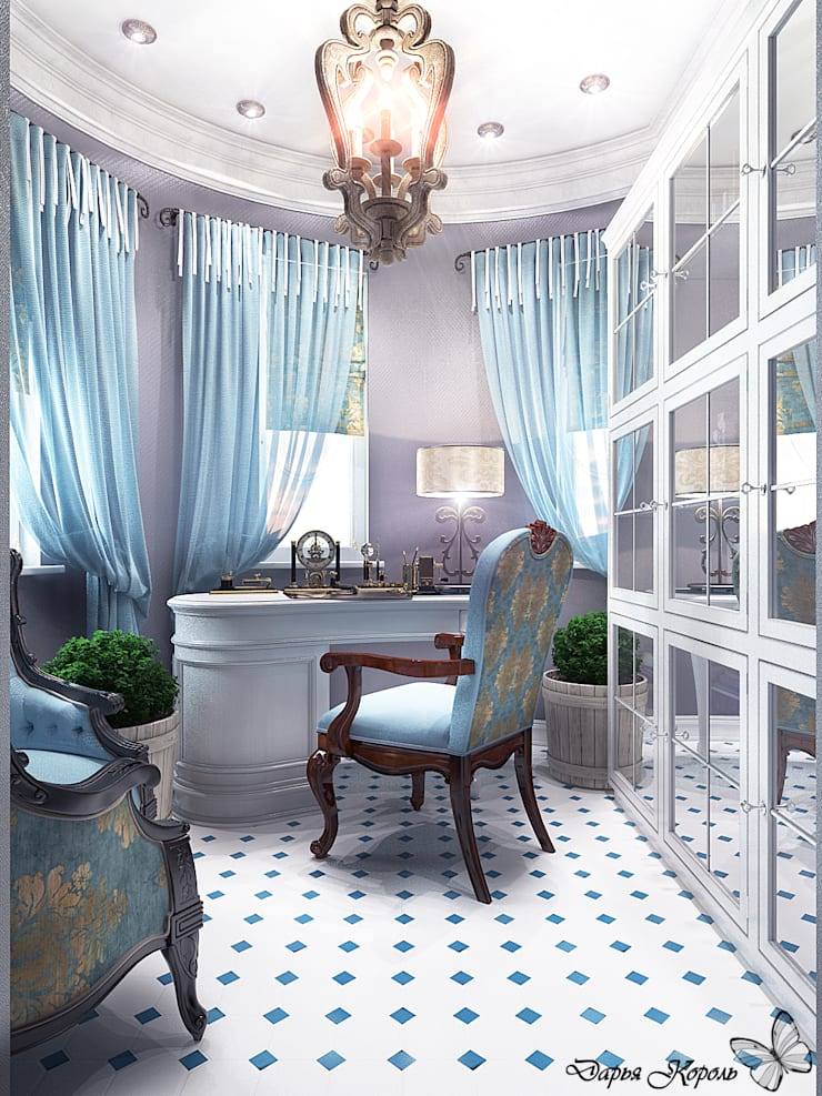 Study/office by Your royal design, Classic