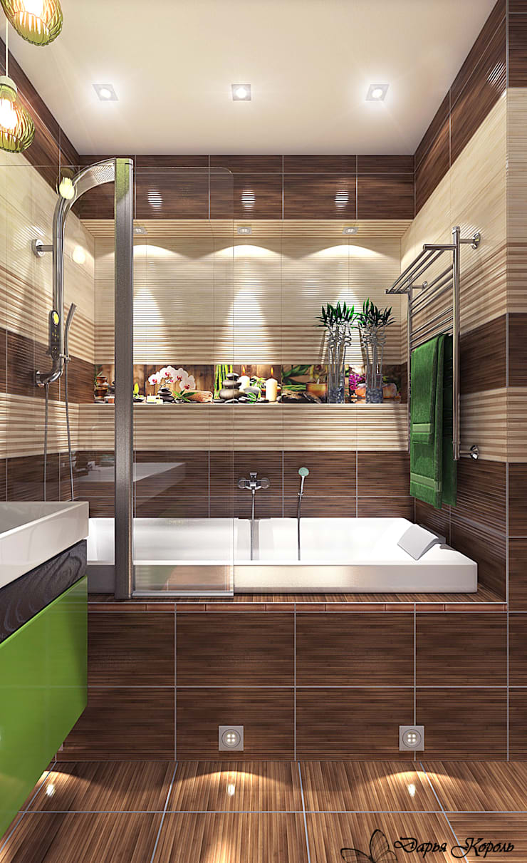 Bathroom by Your royal design, Tropical