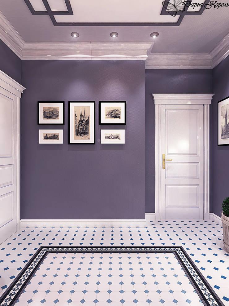 Холл 2й етаж: Коридор и прихожая в . Автор – Your royal design,