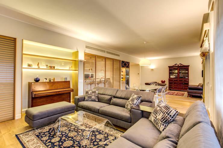 MOB ARCHITECTS:  tarz Oturma Odası