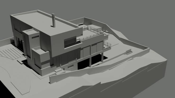 Maqueta: Casas de estilo  por D&D Arquitectura