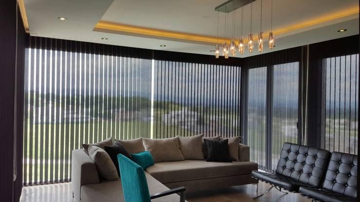 Vivienda Country Lomalinda: Livings de estilo minimalista por D&D Arquitectura