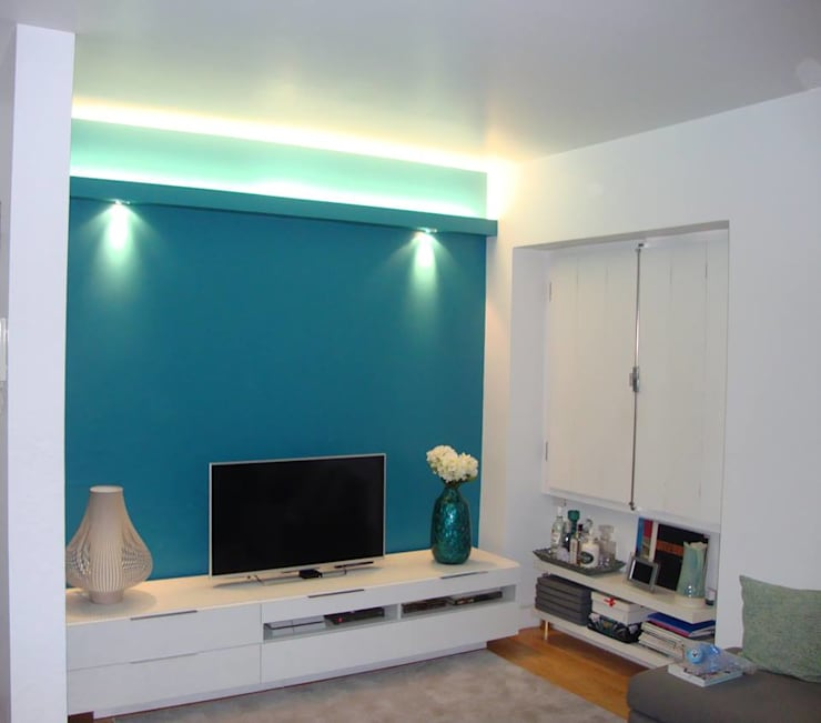 Construçao de sanca de luz:   por House Repair2015