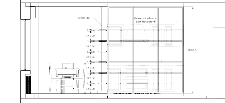 Casa privata - Loft a Milano: Cucina in stile  di Studio Arch. Matteo Calvi