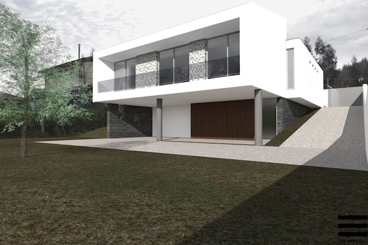 Habitação Unifamiliar RM:   por Em Paralelo