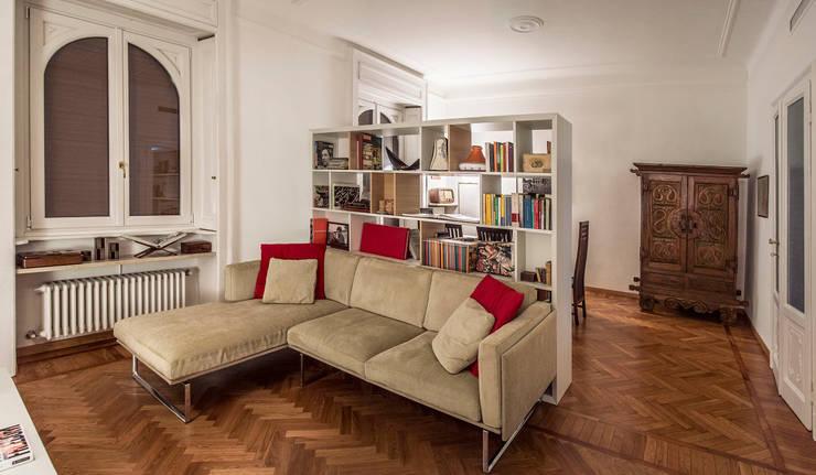 غرفة المعيشة تنفيذ M N A - Matteo Negrin