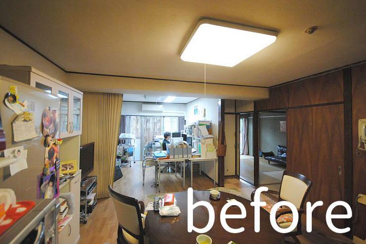 I宅 内部改修 マンションリノベーション: すまい研究室 一級建築士事務所が手掛けたです。