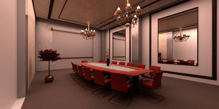 Sala de juntas: Oficinas y tiendas de estilo  por Js