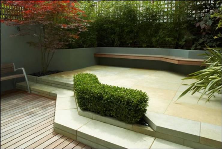 NOUVELLE. | Proje Danışmanlık – Dış Mekan Tasarım ve Uygulamaları:  tarz Bahçe, Tropikal