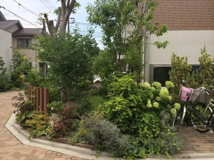 Jardin de style de style Moderne par (有)ハートランド