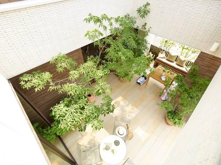 Terrazas de estilo  por (有)ハートランド