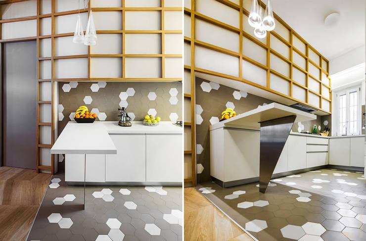 3.8.1: Cucina in stile  di Principioattivo Architecture Group Srl
