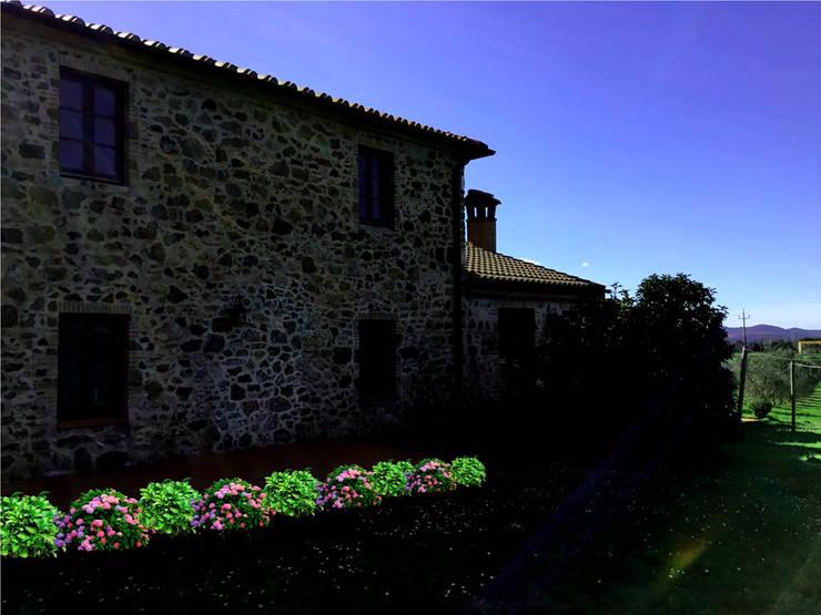 AYTÜL TEMİZ LANDSCAPE DESIGN – İTALYA 'TOSKANA-PEYZAJ PROJE &UYGULAMA // ITALY 'TUSCANY – LANDSCAPE PROJECT&APPLICATION: rustik tarz tarz Bahçe