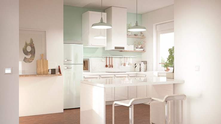 scandinavian Kitchen by ERC