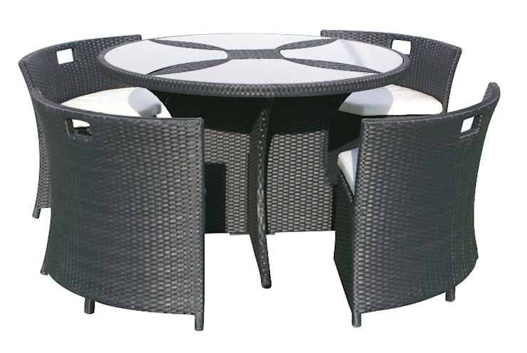 Ödemesi Kapıda – 4'lü Masa Sandalye Takım:  tarz Bahçe