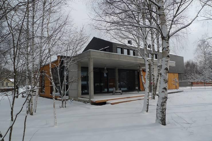 Casas modernas por seweryn pracownia