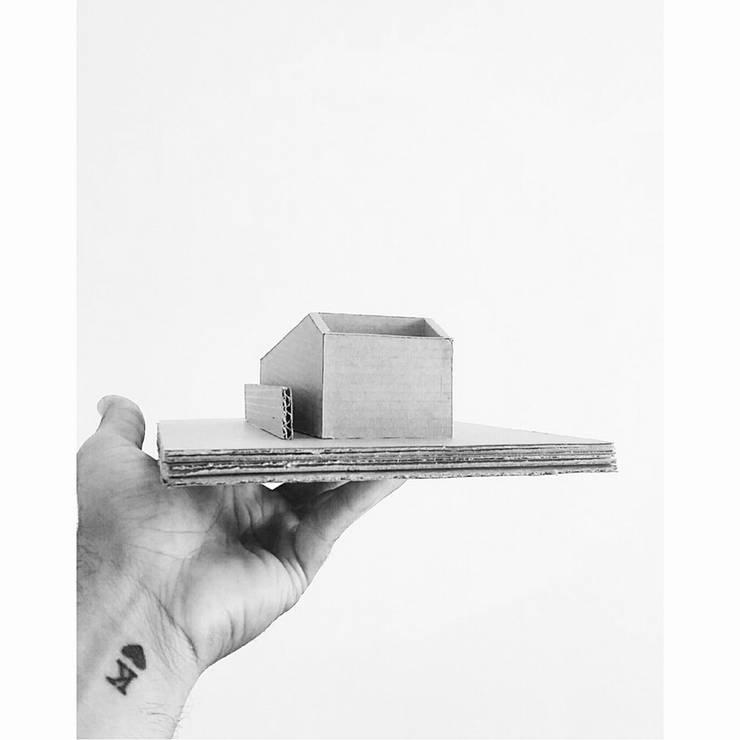Casa Durango Maqueta:  de estilo  por 21 Arquitectura