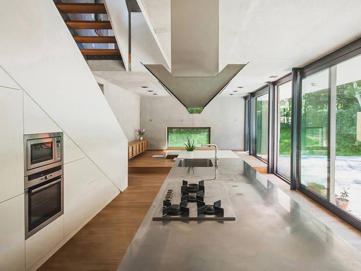 Peter Ruge Architekten의  주방